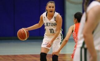 Jaunimo merginų rinktinė palaužė baltaruses