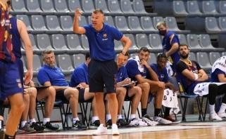 Š.Jasikevičius prieš Katalonijos taurės pusfinalį: varžovai pasiruošę geriau, nei mes