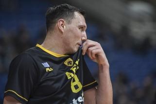 J.Mačiulis negali treniruotis dėl AEK užfiksuoto koronaviruso atvejo