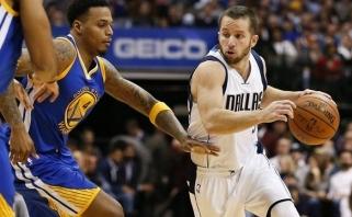 """Be S.Curry likę """"Warriors"""" krepšininkai patyrė antrą nesėkmę - krito Dalase"""