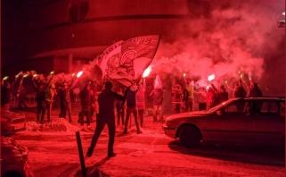 Po pergalės prieš CSKA – sirgalių saliutai bei legionierių padėka lenkiškai