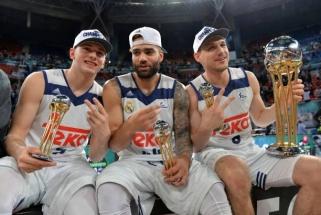 """J.Mačiulis nuo suolo stebėjo, kaip L.Dončičius atvedė """"Real"""" į pergalę"""