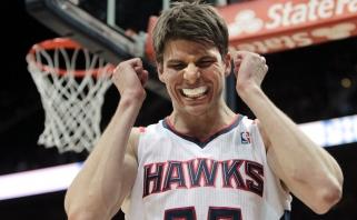 """""""Hawks"""" lieka nesulaikomi Rytuose, K.Korveris - prie tritaškio linijos (rezultatai)"""