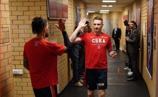 Iš Kauno grįžęs Grigonis padėjo CSKA sutriuškinti Lenkijos klubą