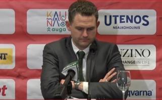 Schilleris pažymėjo Gebeno svarbą komandai ir džiaugėsi šansą gavusiu jaunimu