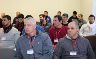 Jonavoje - sporto specialistų iš Izraelio vizitas