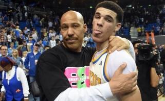 """Lonzo Ballas: džiaugiuosi, kad """"Lakers"""" mane išmainė"""