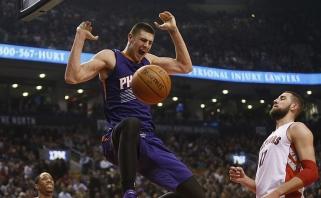 Vietą NBA lygoje išsaugojęs ukrainiečių milžinas rado naują karjeros stotelę