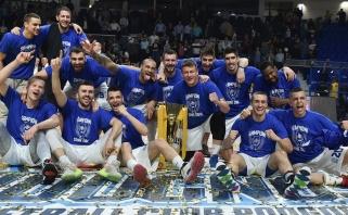 """""""Budučnost"""" išgyveno dramatišką seriją ir susigrąžino Juodkalnijos čempionų žiedus"""