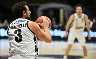 """""""Virtus"""" nušlavė Eurolygos prizininkus ir tapo Italijos čempionais"""