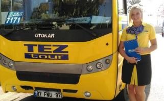 LMKL čempionės atostogos - gidės darbo pamokos Turkijoje