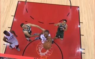 NBA nakties epizodų viršūnėje - K.Leonardas