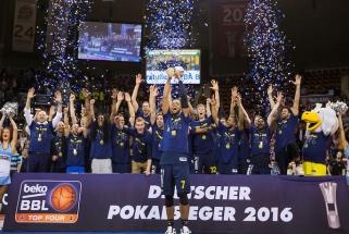 """""""Alba"""" triumfavo Vokietijos taurės varžybose"""