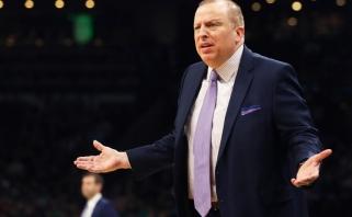 """""""Timberwolves"""" po triuškinančios pergalės prieš """"Lakers"""" atleido vyriausiąjį trenerį"""