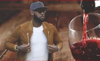 L.Jamesas - apie savo sėkmės paslaptį: vynas