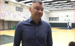 """Š.Jasikevičius apie """"Crvena Zvezda"""": atrodo, tos kūrybos nedaug, bet suranda būdų laimėti"""