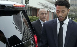 Rasta nušauta skandalingą D.Rose'o bylą tyrusi detektyvė