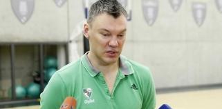 Š.Jasikevičius: jie turi traumuotų žaidėjų, Maskvoje stengsimės pateikti siurprizą