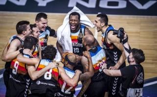 Čempionų lygą ir milijoną eurų antrus metus iš eilės laimėjo Burgoso klubas