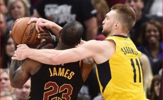 """""""Pacers"""" kreipėsi į NBA lygą dėl padidėjusio asmeninių pražangų skyrimo skaičiaus"""