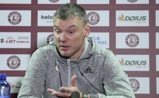 """LKL lyderių dvikovoje """"Žalgiris"""" sunkiai laimėjo Panevėžyje (video komentarai)"""