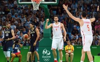 Ispanai įveikė Argentiną, ketvirtfinalyje susitiks su prancūzais