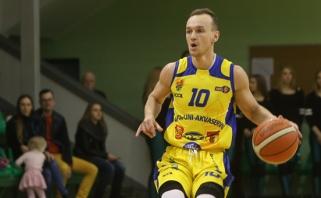 """""""Nafta-Uni-Akvaservis"""" prieš NKL pusfinalį prarado vieną lyderių (interviu)"""