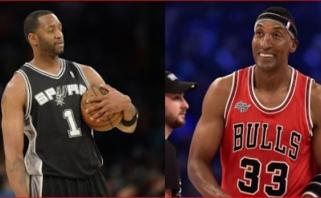 """T.McGrady: naujokų biržos naktį """"Bulls"""" bandė mane įsigyti mainais į S.Pippeną"""