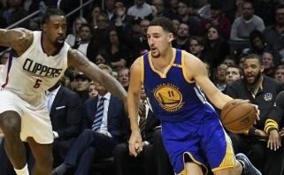 NBA Vakarų konferencijos lyderių mūšyje intrigos nebuvo