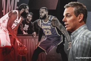 """C.Cowherdas: nematau """"Lakers"""" ar """"Rockets"""" laiminčių titulą"""