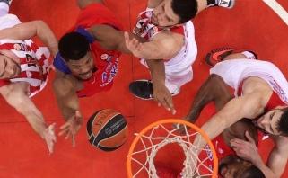 CSKA Top 16 etapą baigė sunkia pergale Pirėjuje