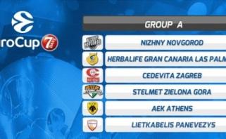 """Oficialu: """"Lietkabelis"""" žais Europos taurėje, startas - prieš Lenkijos čempionus"""
