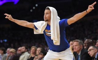 """""""Clippers"""" suklupo Detroite, """"Warriors sutriuškino """"Lakers"""" ekipą (rezultatai)"""
