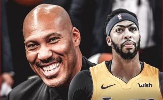 """LaVaras Ballas: """"Lakers"""" nereikia Daviso, o mano sūnus tegu žaidžia su savo broliais"""
