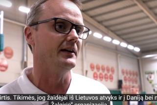 """Kaune treniravęsi Danijos krepšinio talentai liko sužavėti """"Žalgirio"""" organizacija"""