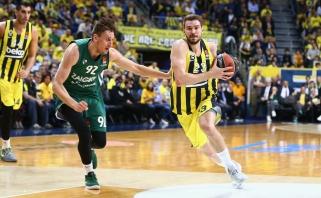 """Oficialu: """"Fenerbahče"""" iš duobės padės traukti iš NBA grįžęs Guduričius"""