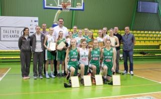 """""""Talentų U15 kartos"""" merginoms sėkmės linkėjo A.Sabonis"""