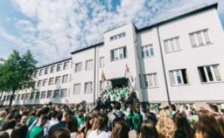 Žalgiriečiai surengė šventę gimnazistams