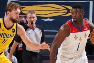 Perkinsas: Zionas vaikšto, tarsi turėtų dvi kaires kojas, tačiau jis – būsimas NBA veidas