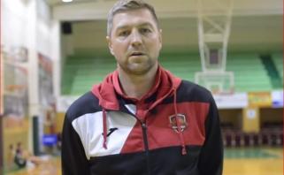 NKL čempionų treneris P.Šakinis prieš sezono startą: bandysime išgyvendinti bangavimą