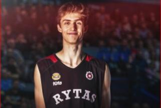 """16-metis talentas A.Marčiulionis- apie tėčio patarimus, NBA svajonę ir pergalę prieš """"Žalgirį"""""""