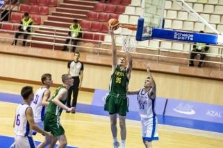 Lietuviai Europos olimpiniame festivalyje patyrė pirmą nesėkmę