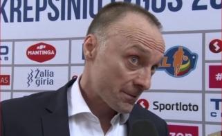 P.Šakinis nesėkmę pavadino skaudžiausia karjeroje, E.Kučiauskas džiaugėsi auklėtinių charakteriu
