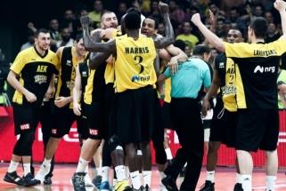 FIBA Čempionų lygos taurė ir milijonas eurų - AEK klubui