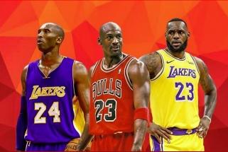 S.Nashas sudėliojo tris legendinius žaidėjus: Jordanas, LeBronas, po to Kobe