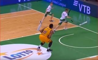 VTB lyga pristatė juokingiausių sezono momentų penketuką