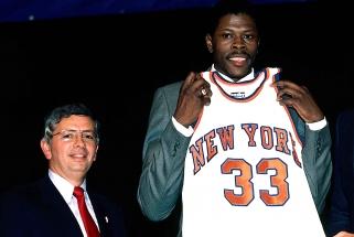 """""""Knicks"""" legenda P.Ewingas: naujokų biržoje norėjau, kad mane pasirinktų """"Warriors"""""""