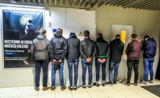 """Policija prašo atsiliepti nukentėjusius per """"Ryto"""" ir """"Žalgirio"""" rungtynes """"Siemens"""" arenoje"""