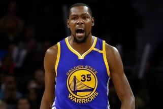 """K. Durantas su """"Warriors"""" sutarė dėl dviejų metų kontrakto"""