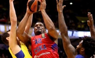 CSKA be dviejų lyderių išplėšė pergalę Tel Avive